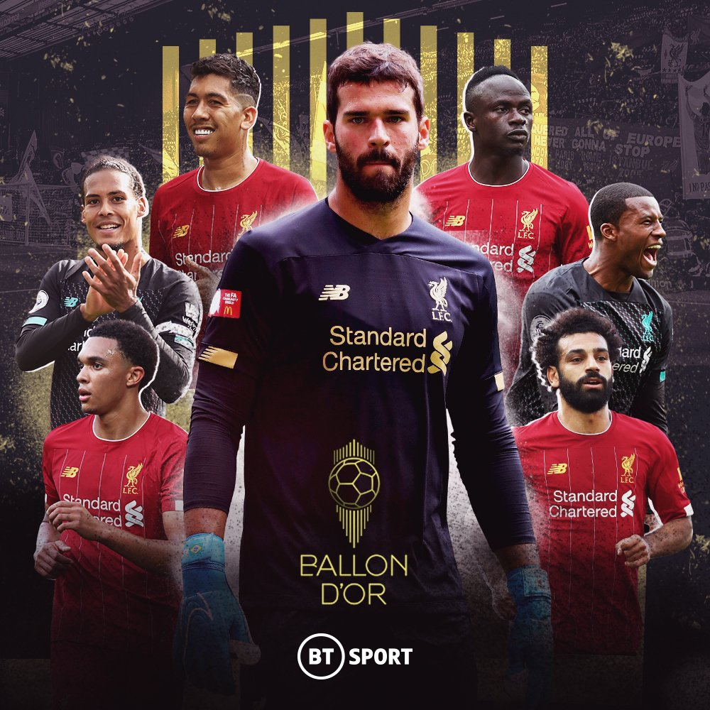Liverpool Ballon D'Or Nominations